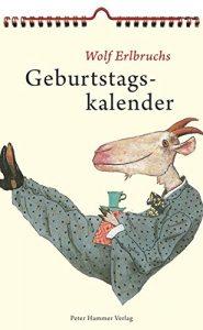 Wolf Erlbruch's Birthday Calendar